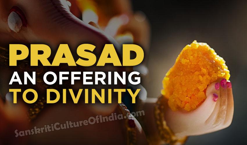 prasad offering