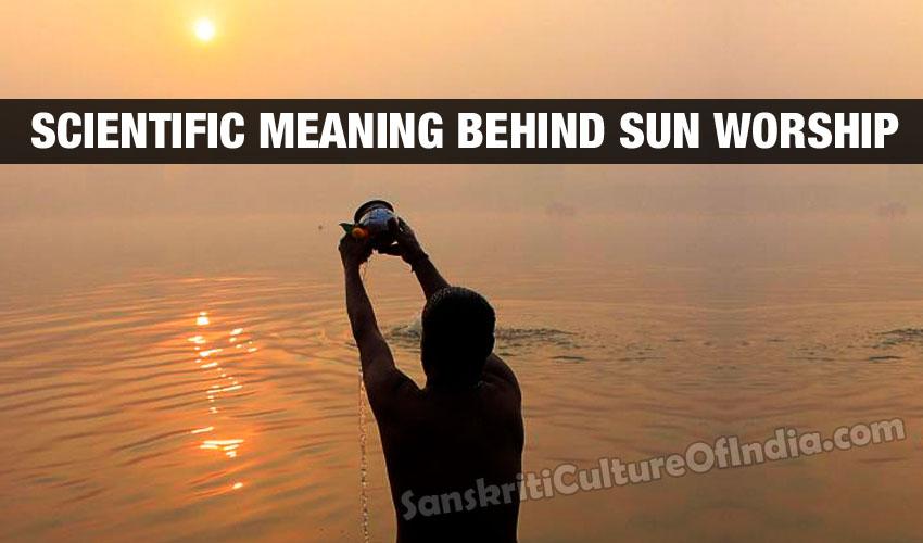 sun worship water