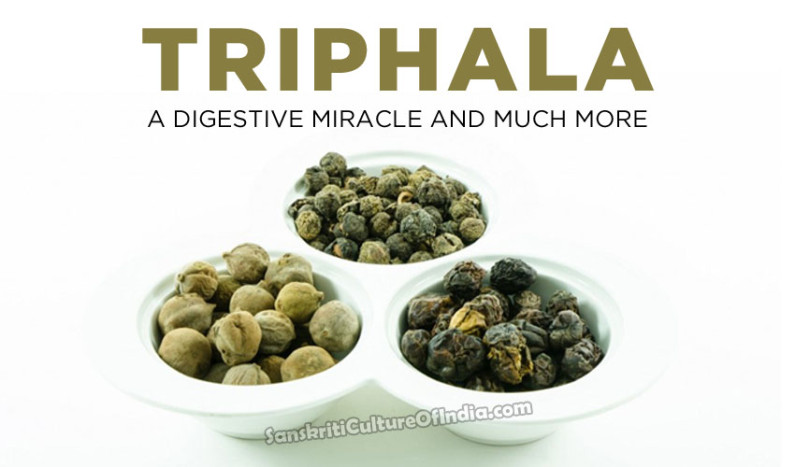 Triphala:  Nature's Cleansing Agent