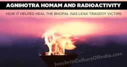 Agnihotra Homam and Radioactivity