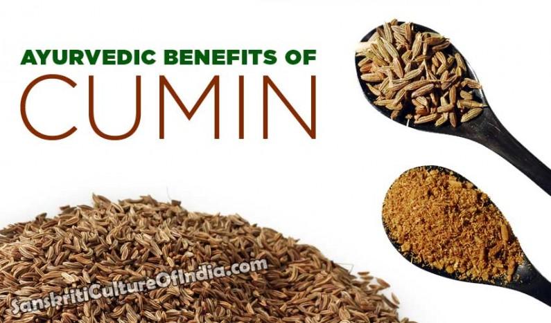Ayurvedic benefits of Cumin