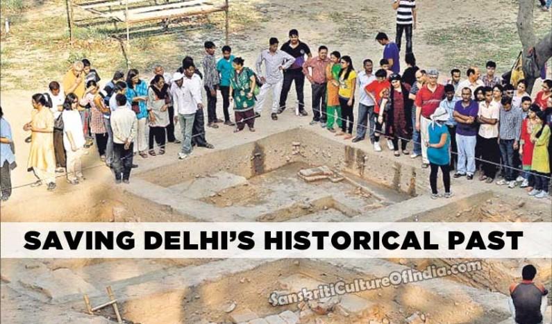 Saving Delhi`s Historical Past
