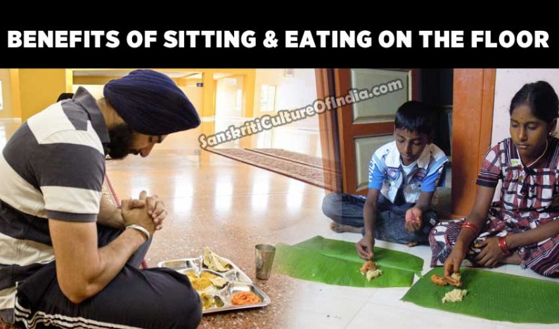 Benefits of Sitting & Eating on the Floor
