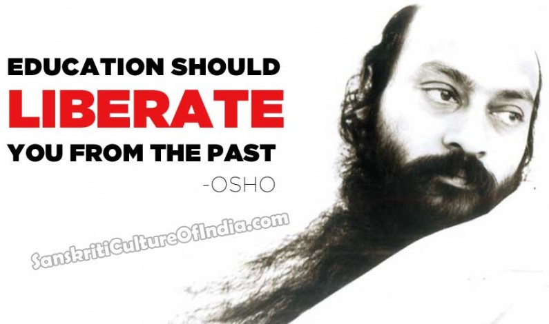 Education should liberate you from the past