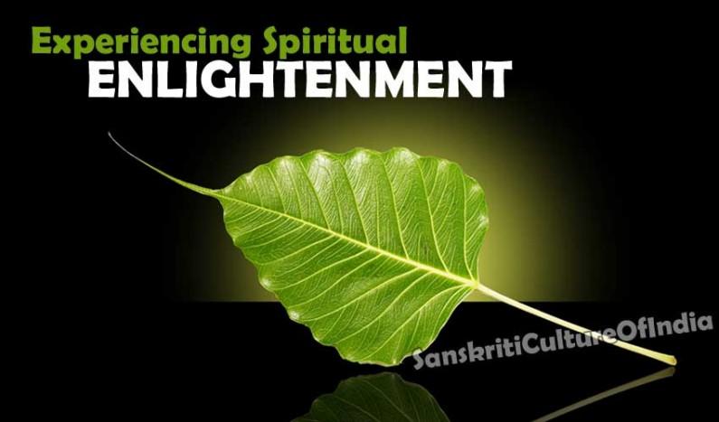 Experiencing Spiritual Enlightenment