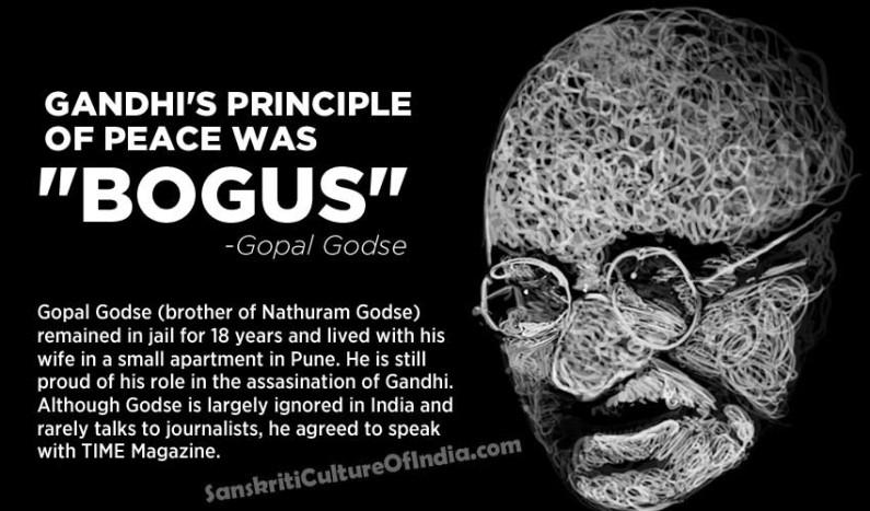 "Gandhi's Principle of Peace Was ""Bogus"": Gopal Godse"