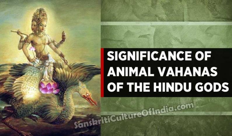Significance of Animal Vahanas of Hindu Gods