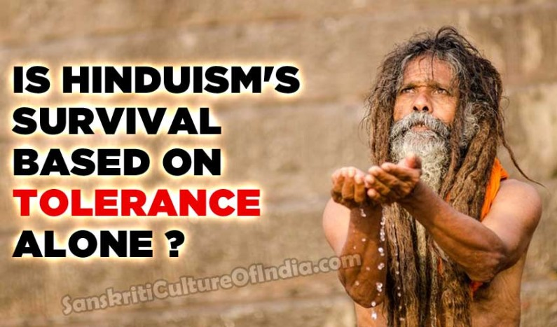 Is Hinduism's Survival Based on Tolerance Alone ?