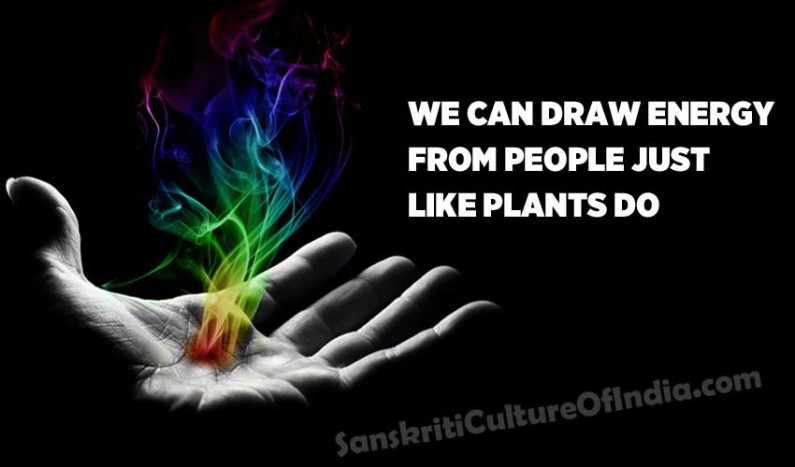 We Can Draw Energy From People Just Like Plants Do