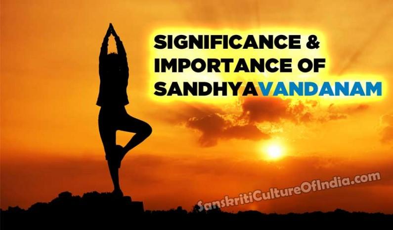 Significance & Importance of Sandhyavandanam