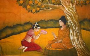 Amrapali-Buddha