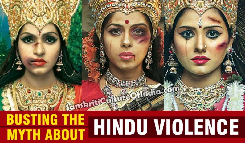 Busting the myth about Hindu Violence