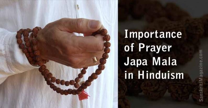 Importance of Prayer Japa Mala in Hinduism