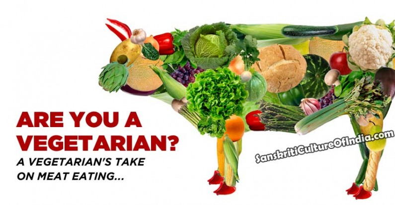 A vegetarian's take on meat eating