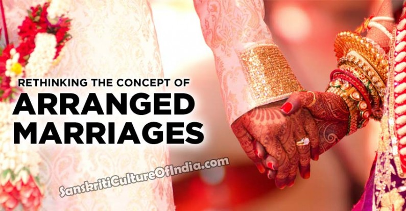 Rethinking the concept of arranged marriages