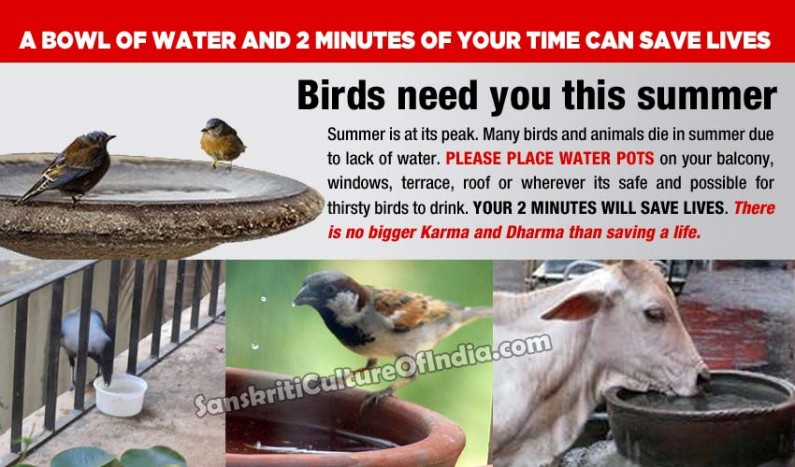 A bowl of water and 2 minutes of your time can saves lives