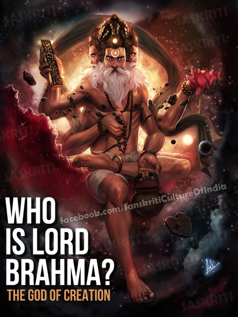 Who is Lord Brahma: The God of Creation