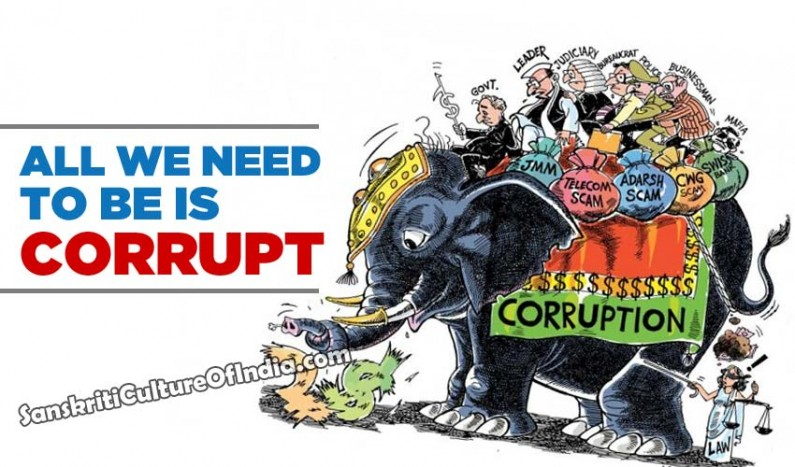 All we need to be is corrupt