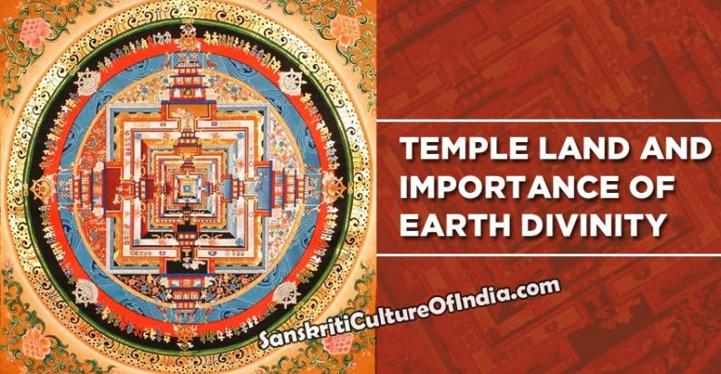 Temple land and importance of Earth divinity