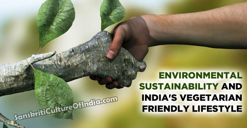 Environmental sustainability and India's vegetarian-friendly lifestyle