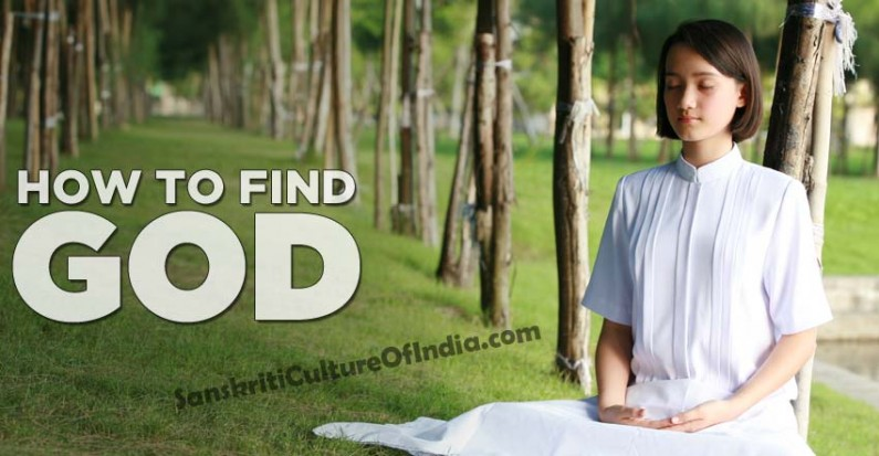 How to find God in Hinduism
