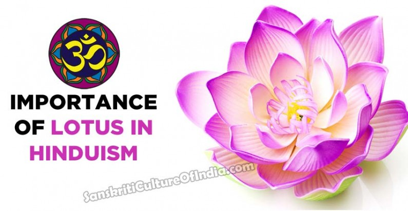 Importance of lotus in Hinduism