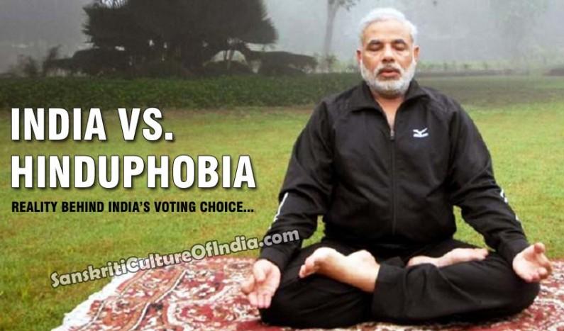 India vs. Hinduphobia:  Reality behind India's voting choice