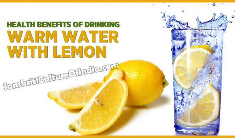 Health benefits of drinking warm water with lemon
