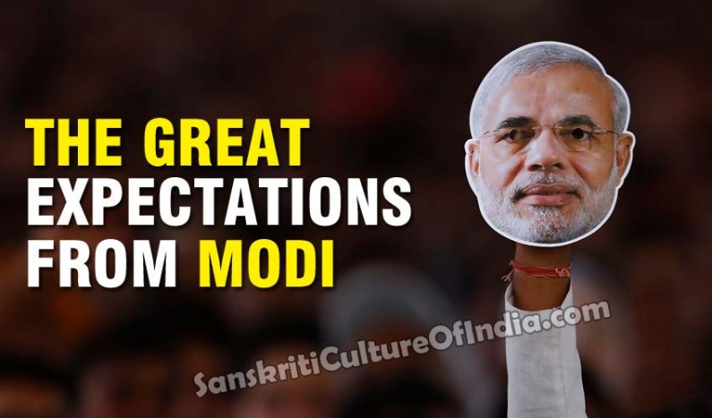 The Great Expectations from Modi to Drive Dramatic Change