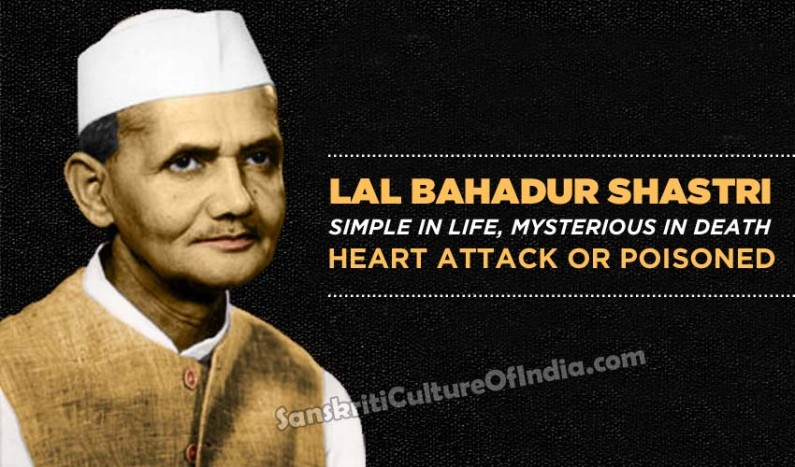 Lal Bahadur Shastri: Simple in life, mysterious in death