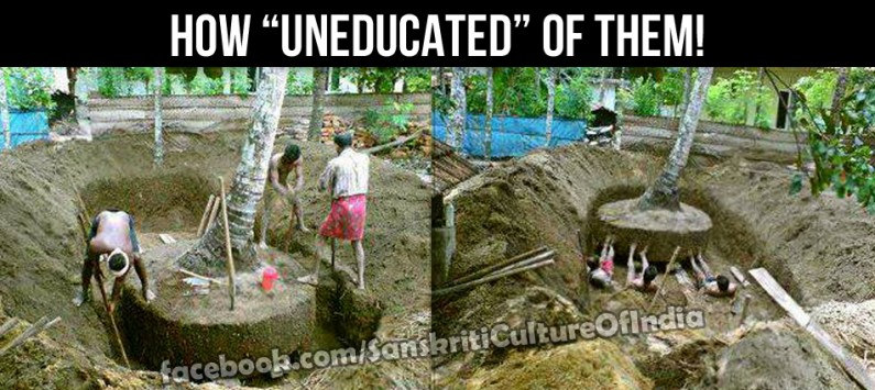 "How ""UNEDUCATED"" of them!"