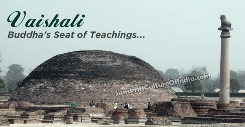 Vaishali:  Buddha's seat of teachings