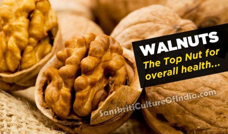 Walnuts:  The Top Nut for overall health