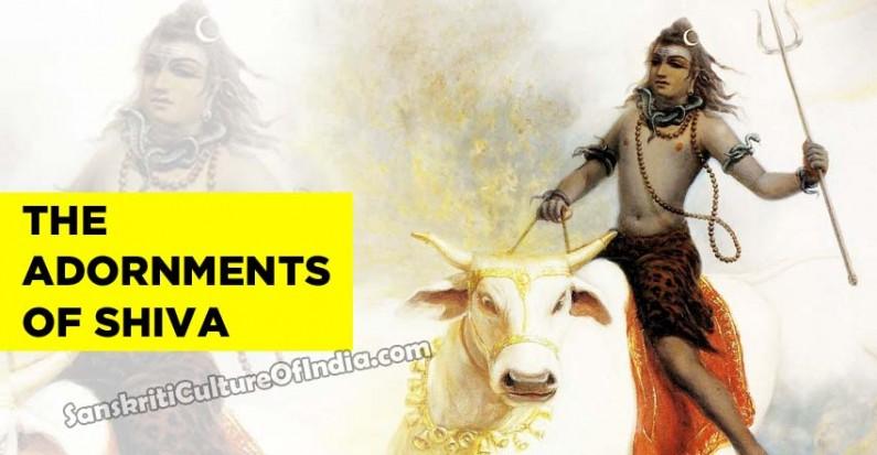The adornments of Shiva