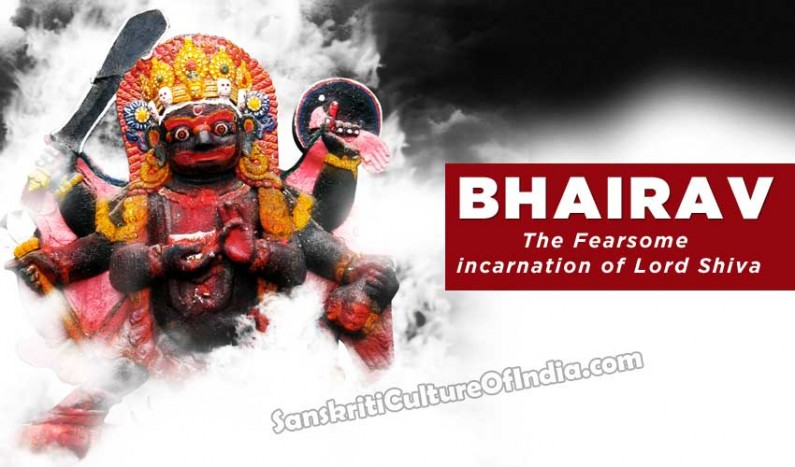 Bhairav:  The Fearsome incarnation of Lord Shiva