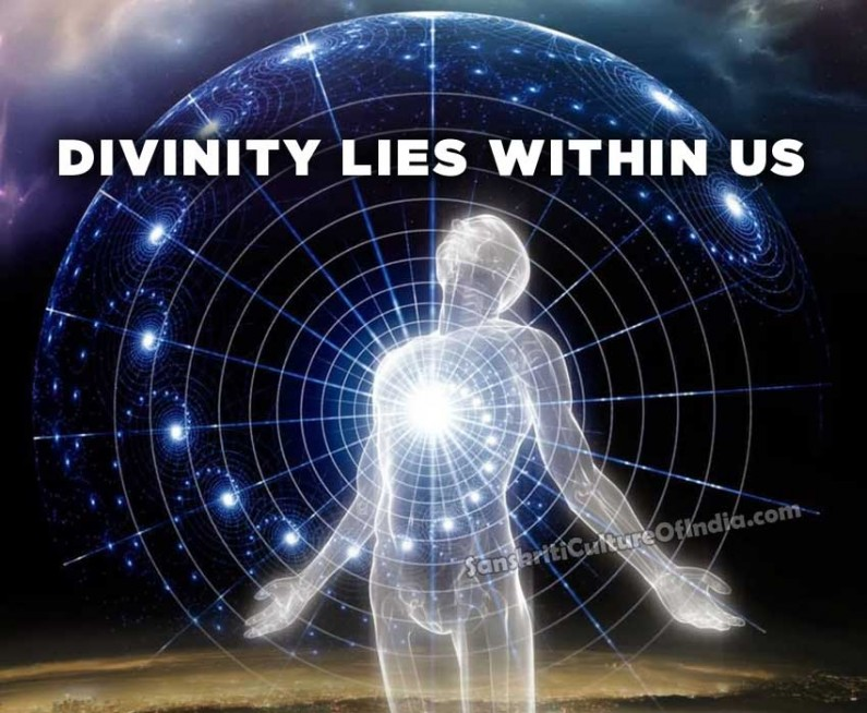 Divinity lies within us