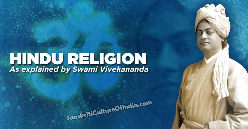 Hindu religion: Swami Vivekananda