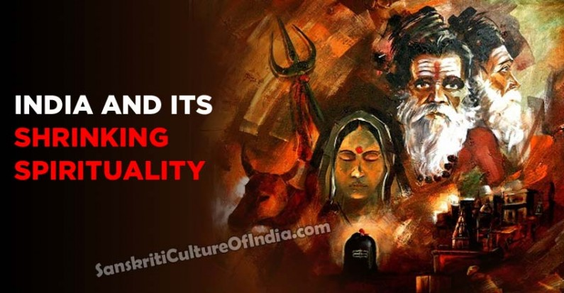 India and its shrinking spirituality