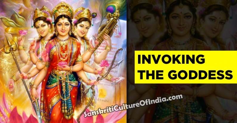 Invoking the Goddess