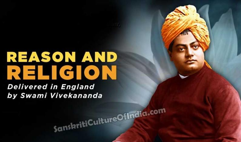 Reason and Religion – Swami Vivekananda
