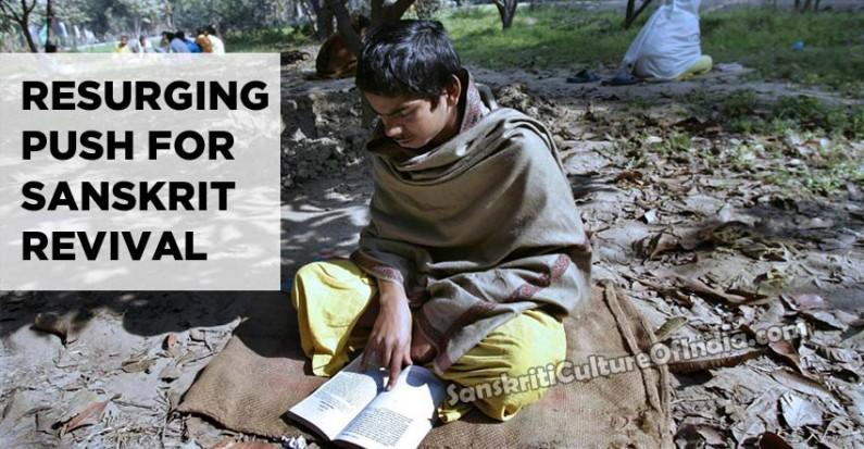 Resurging push for Sanskrit revival