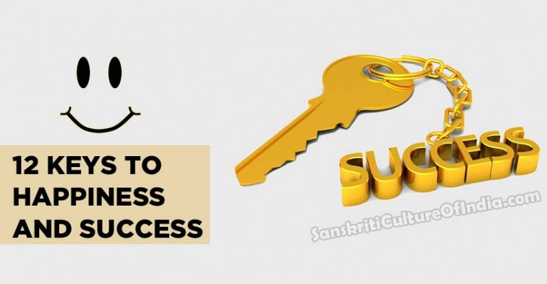 12 keys to happiness and success