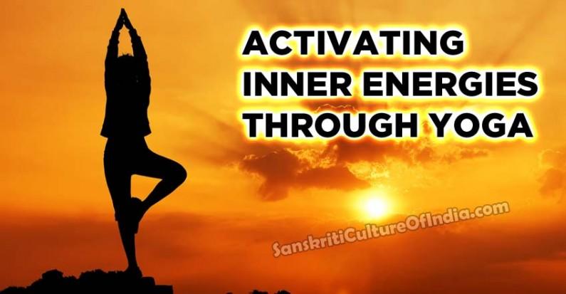 Activating inner energies through Yoga