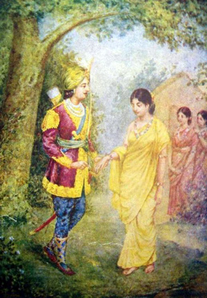 Dushyant and Shakuntala