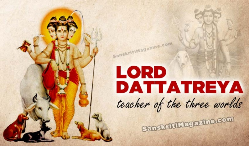 Lord Dattatreya:  teacher of the three worlds