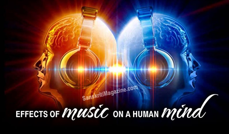 Effects of music on a human mind
