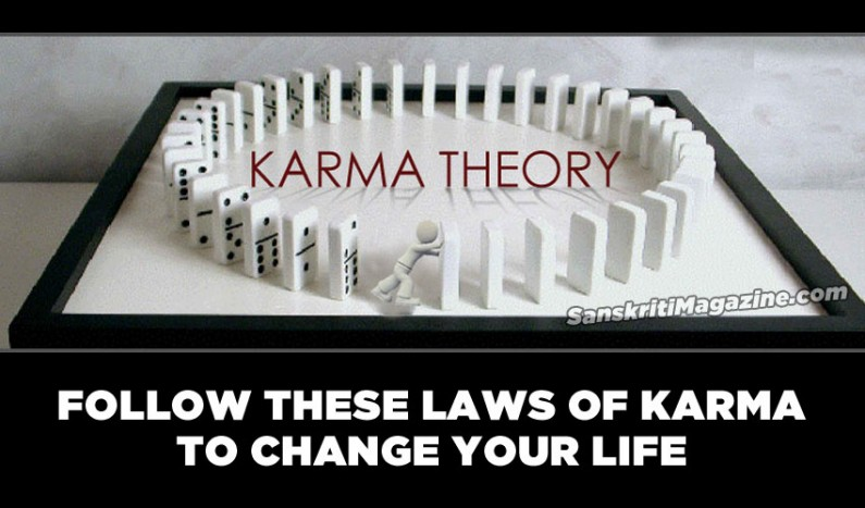 Follow these laws of Karma to change your life