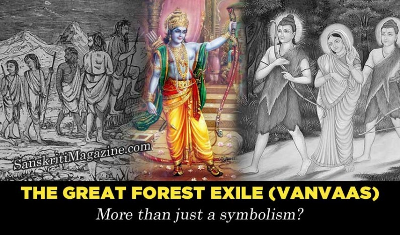 The Great Forest Exile:  More than just a symbolism ?