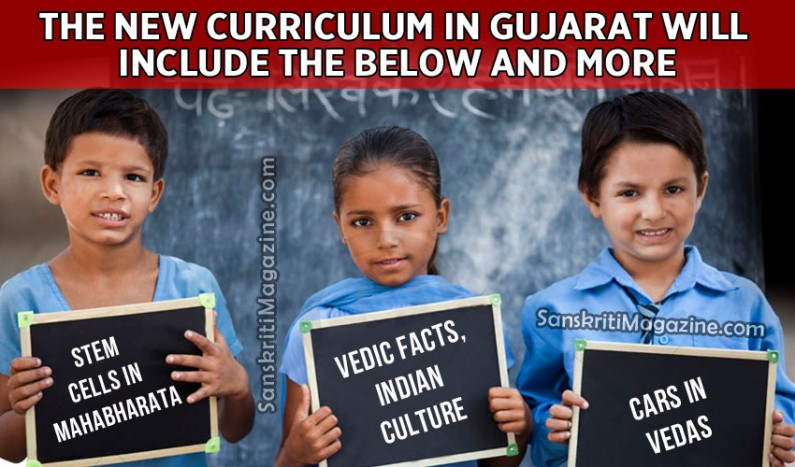 Stem cells in Mahabharata, cars in Vedas to be in new curriculum in Gujarat