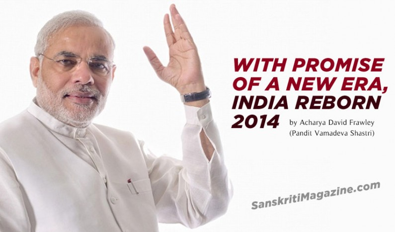With Promise of a New Era, India Reborn 2014
